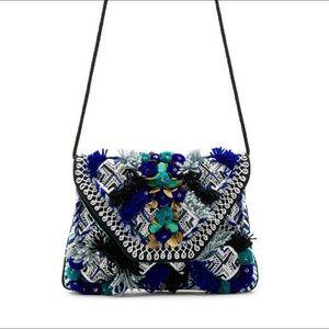NEW Antik Batik BLUE KILAN CLUTCH